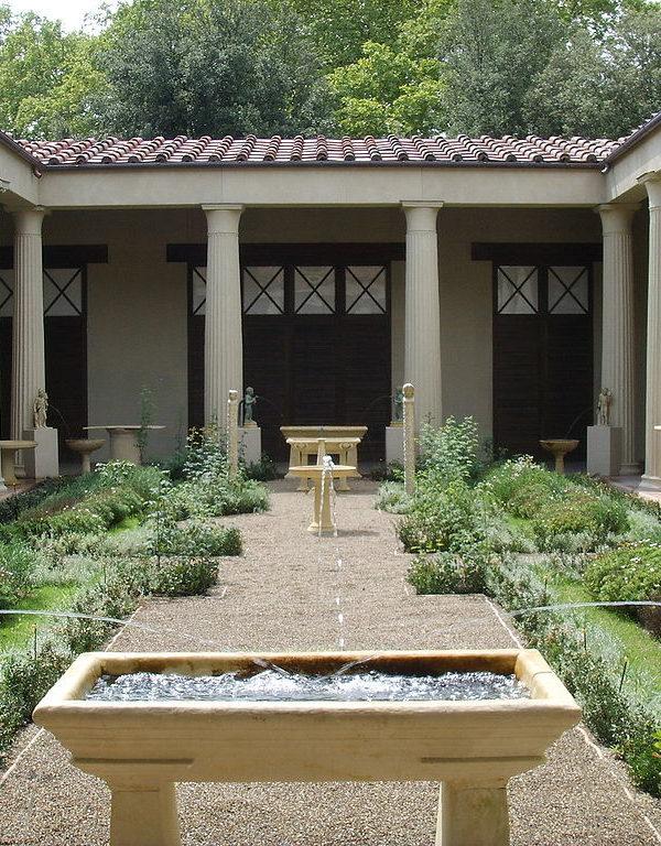 I giardini dell'antica Roma