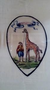 Antico stemma della Nobile contrada della Giraffa