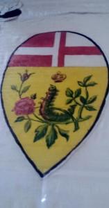Antico stemma della Nobile contrada del Bruco