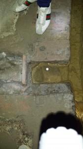 La canalizzazione verso un'abitazione privata