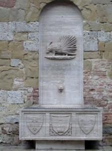 La fontana della Nobile contrada dell'Istrice