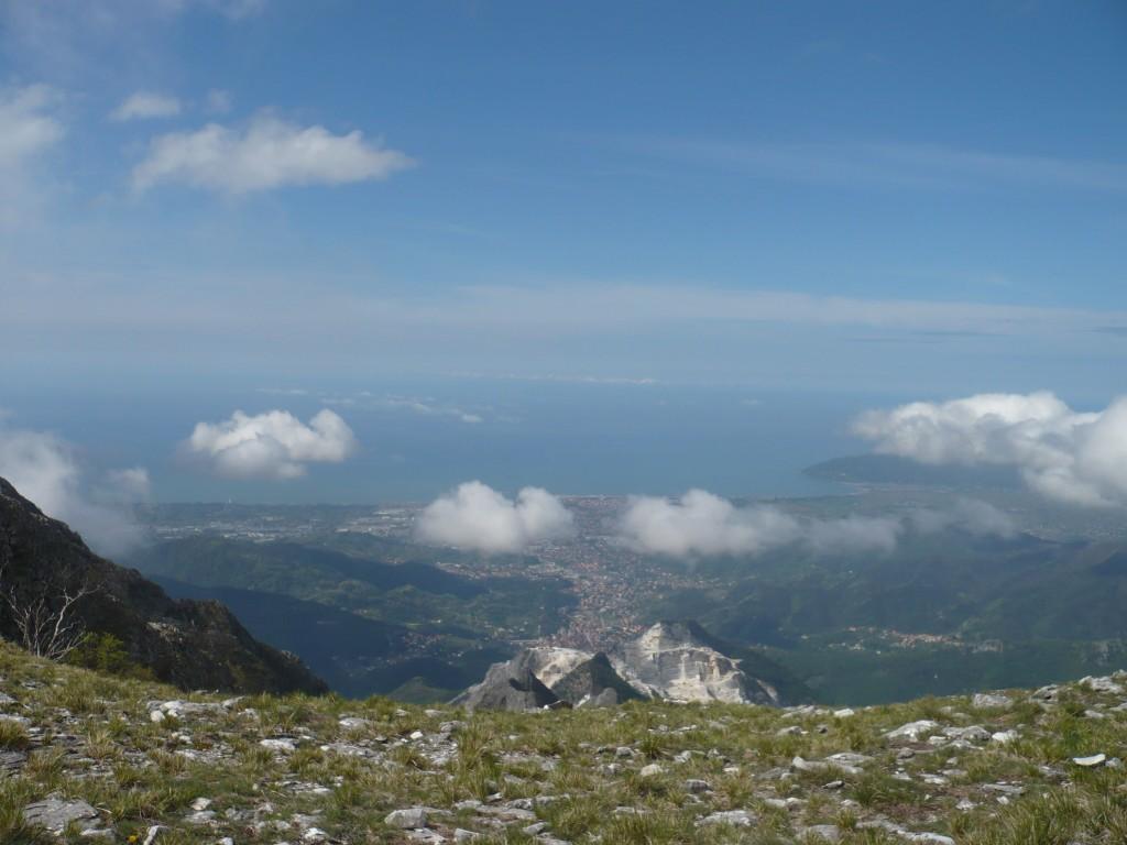 Picnic al Campo Cecina sulle Apuane