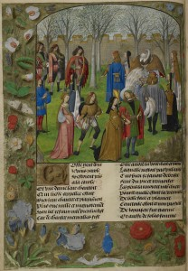 The_Carolle_in_the_Garden_-_Roman_de_la_Rose_(c.1490-1500),_f.14v_-_BL_Harley_MS_4425