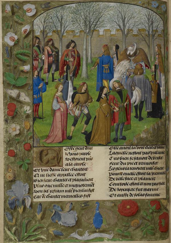 Il giardino medievale: il giardino d'amore