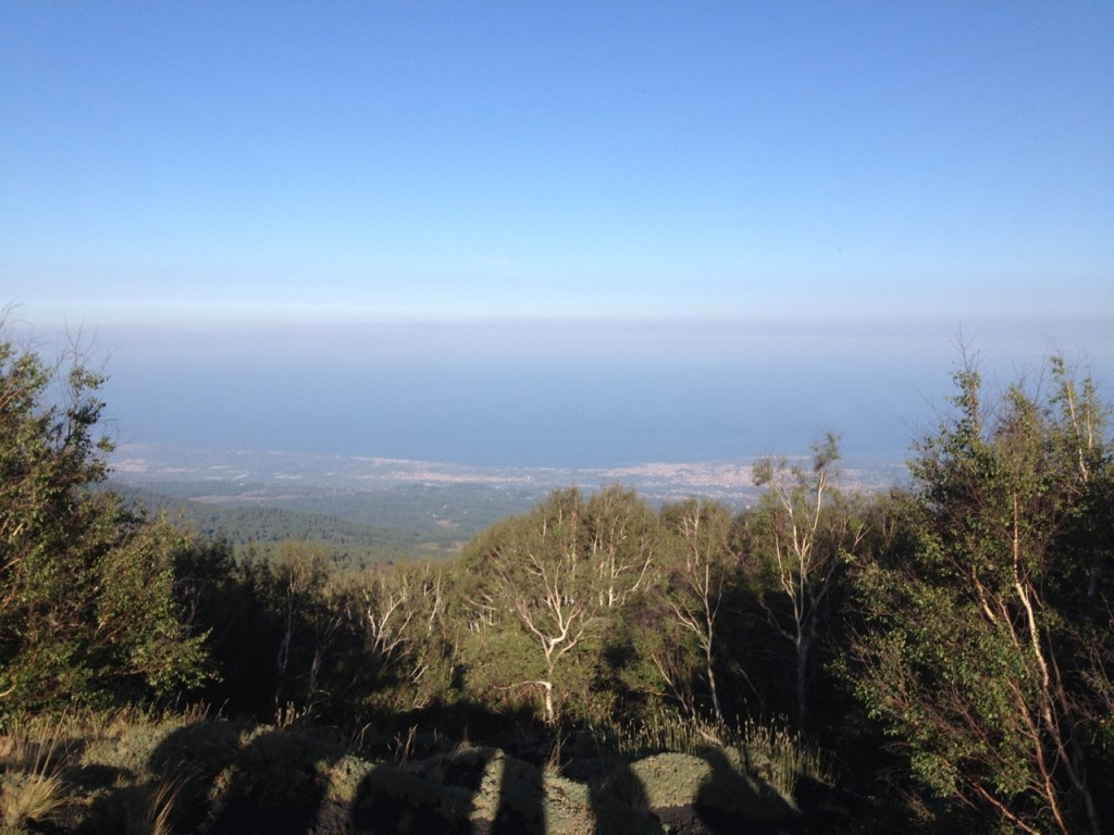 Picnic sull'Etna