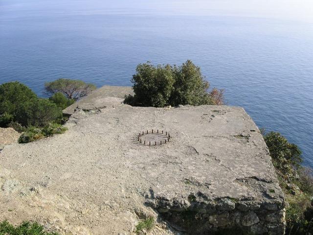 Picnic al Salto della Lepre in Liguria