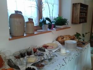a casa del pittore colazione