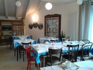 sala colazioni casa del pittore