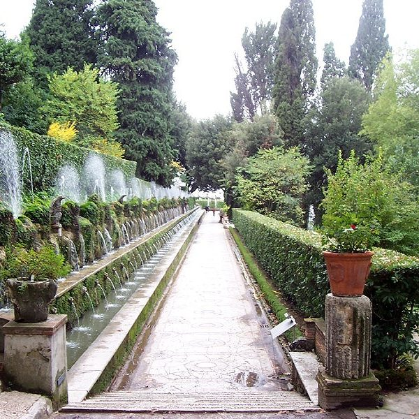 Tivoli-Villa-D-Este-esempio di giardino manierista