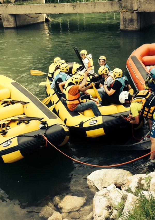 Rafting sul Ticino: un'esperienza per tutti lontana dal solito stereotipo