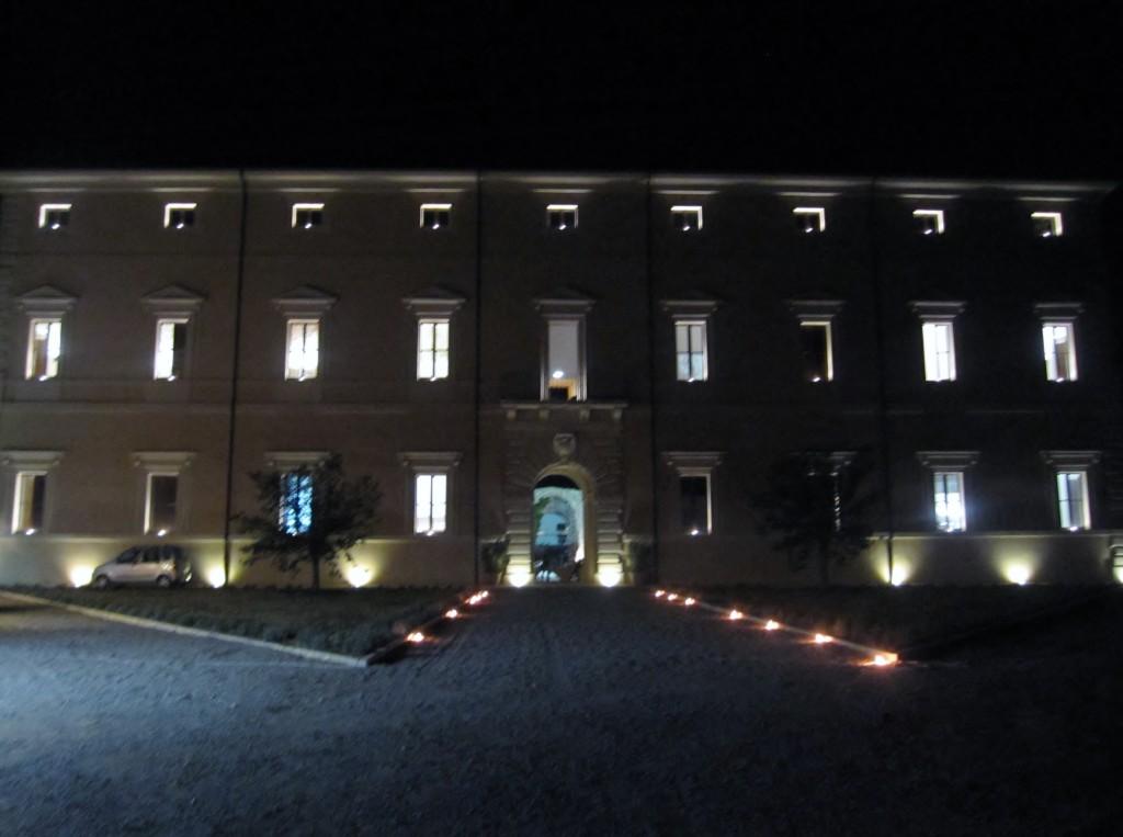 Villa Sforzesca by night _1