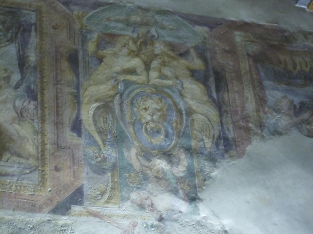 Villa Sforzesca_gli_affreschi_1