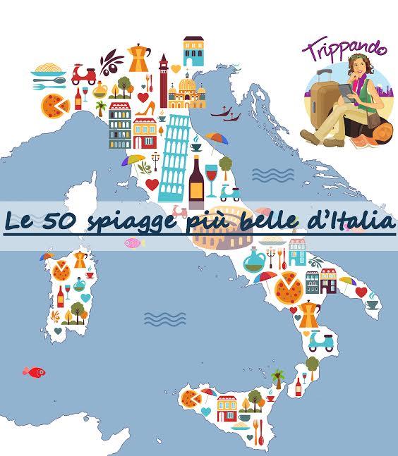 Le 50 spiagge più belle d'Italia (con video, geolocalizzazione e infografica)
