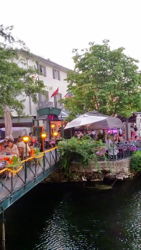 Viaggio in Provenza, Isle sur la Sorgue: un villaggio sull' acqua