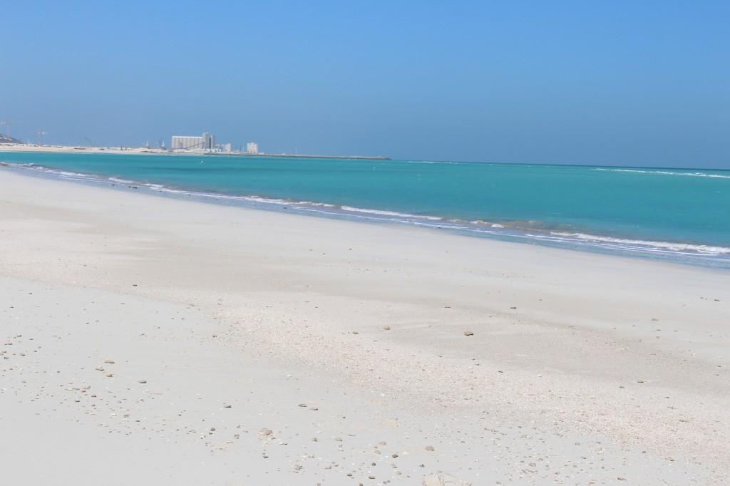 il mare di Saadiyat Island ad abu dhabi