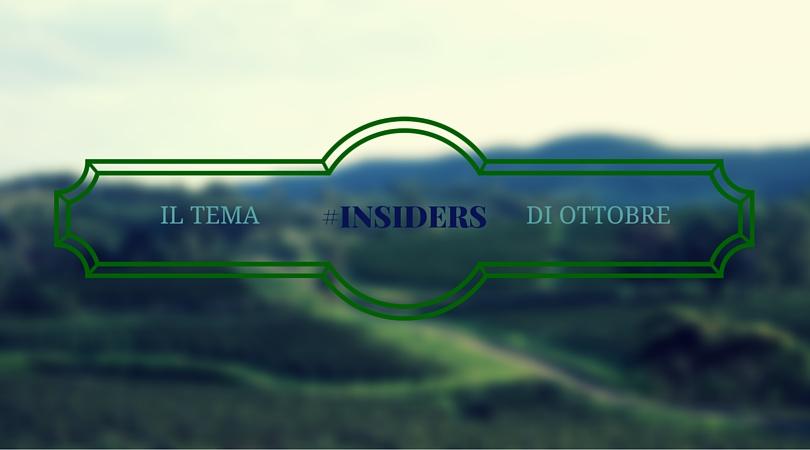 TEMA INSIDERS DI OTTOBRE