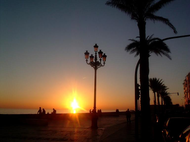 tramonto a cadice