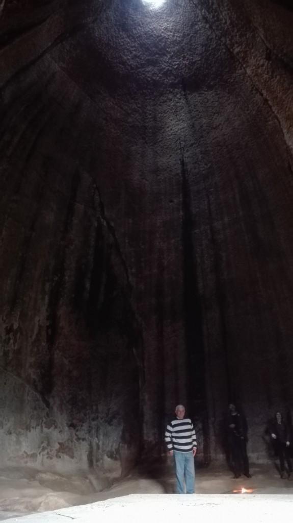 antro delle grotte della gurfa nelle madonie