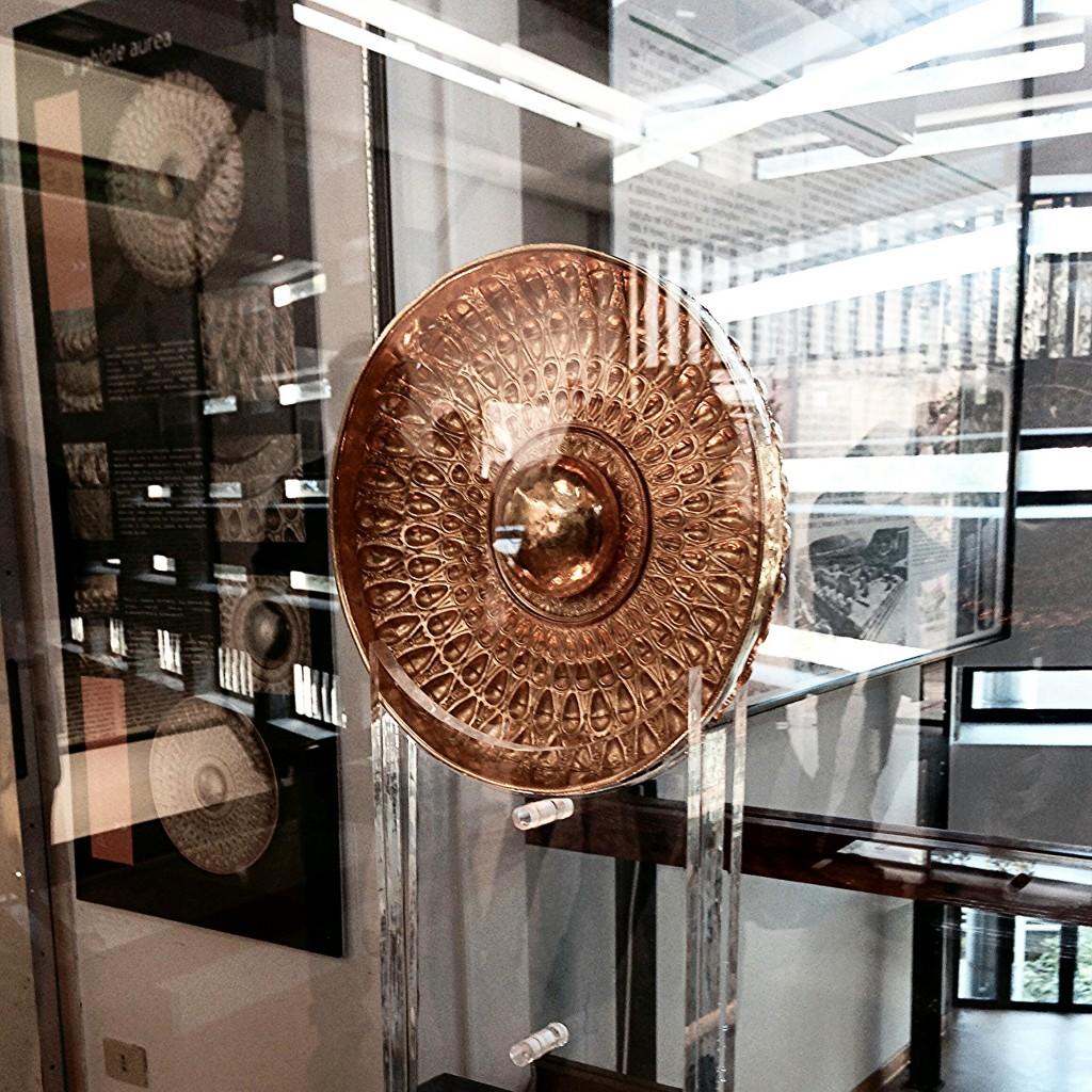 reperto al museo archeologico di hymera in sicilia