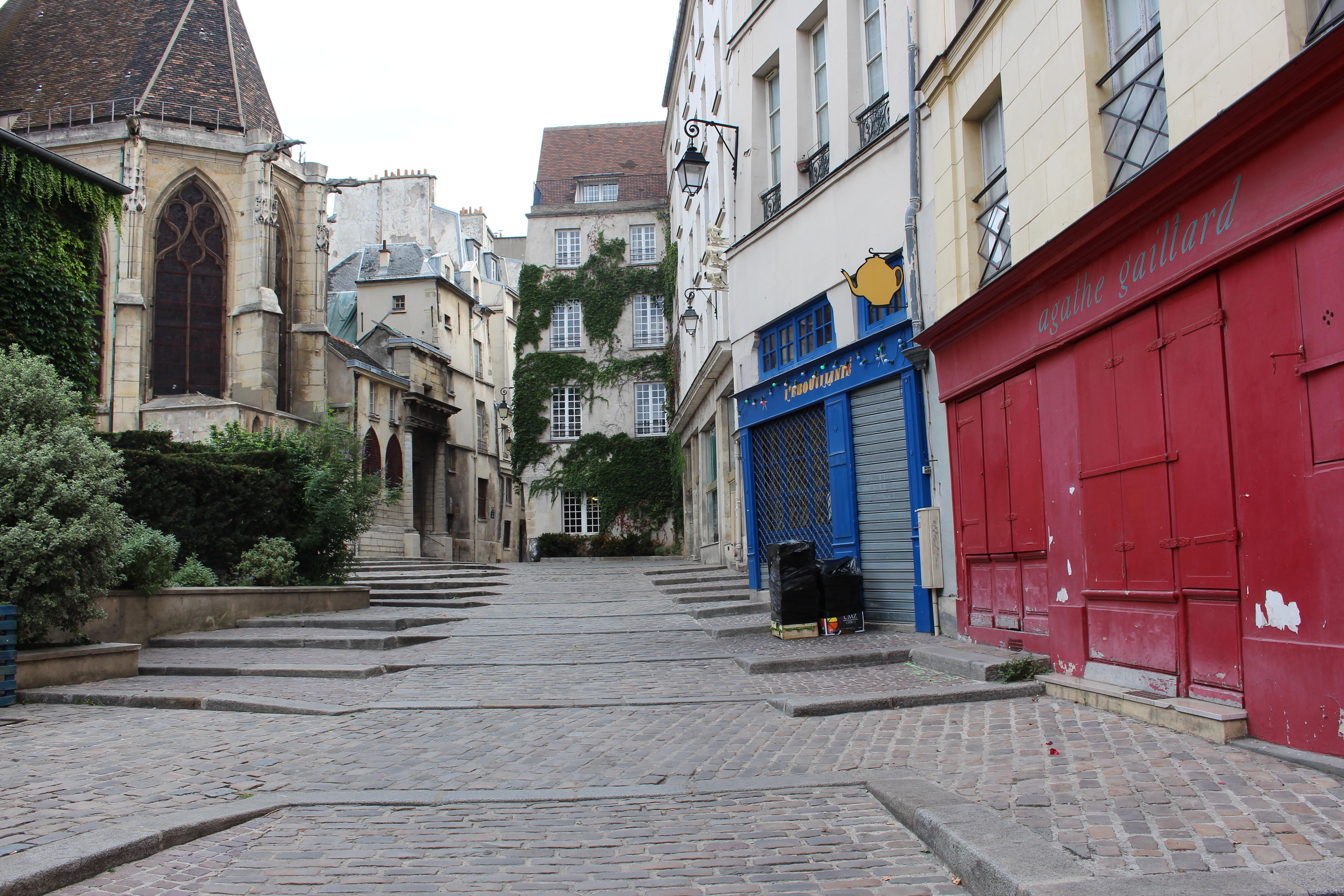 scoprire il marais itinerario nel 4 arrondissement di parigi