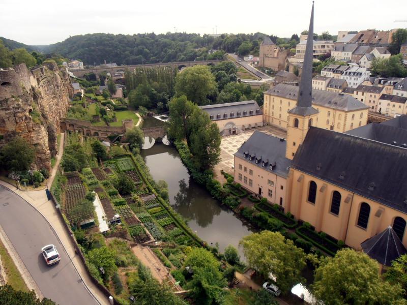 lussemburgo vista dalla corniche