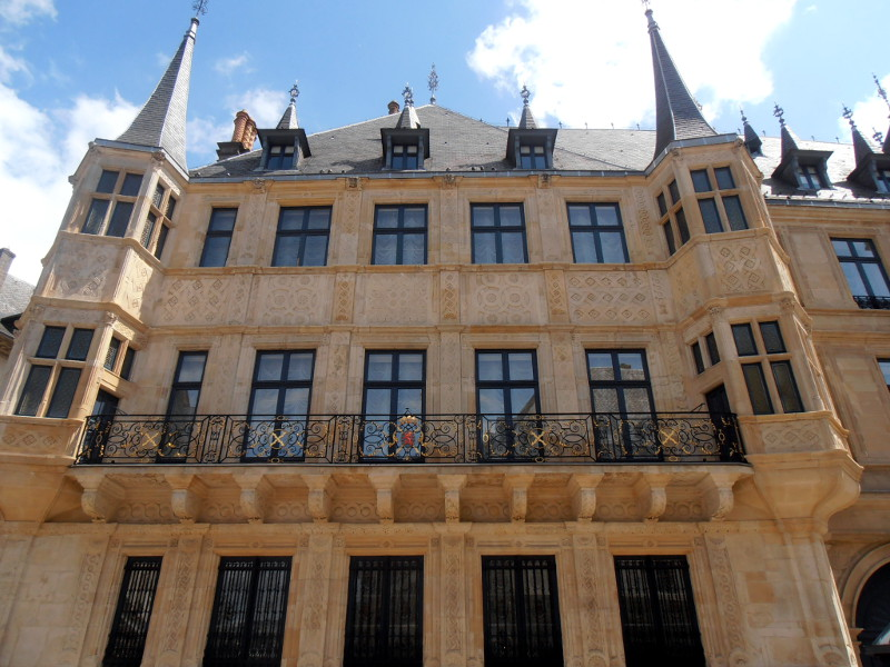 palazzo granducale lussemburgo