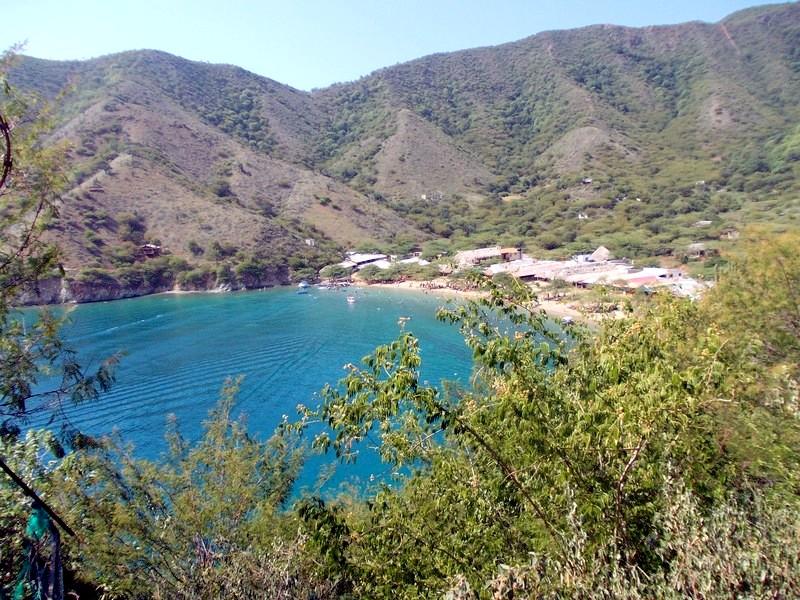 Taganga, sulla costa del Caribe