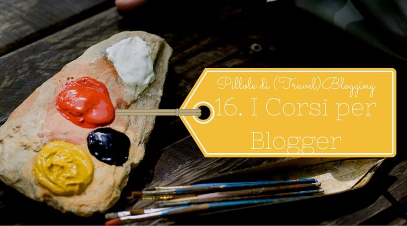 corsi per blogger