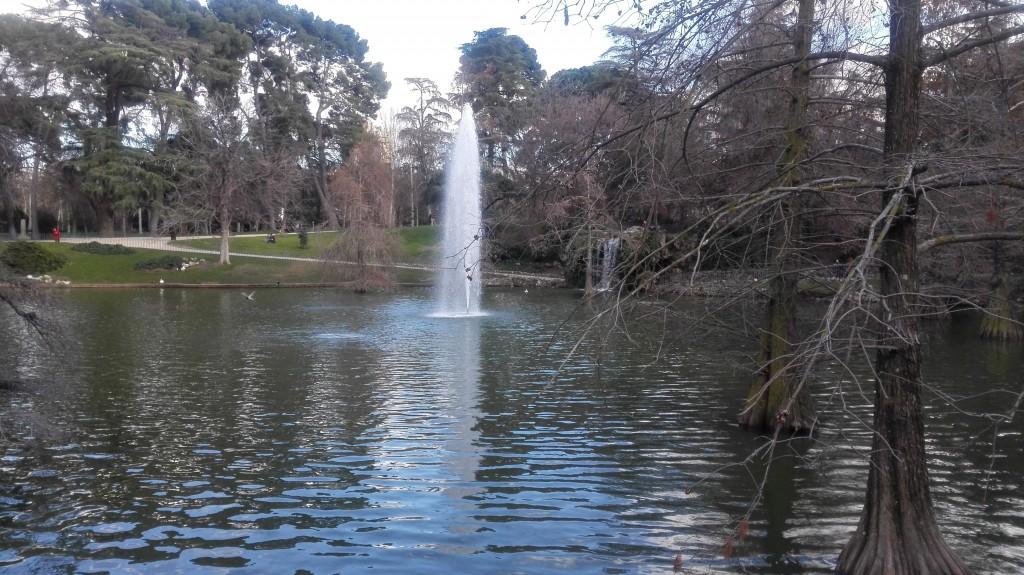 Fontana al Palazzo di Cristallo, Parco del Buen Retiro