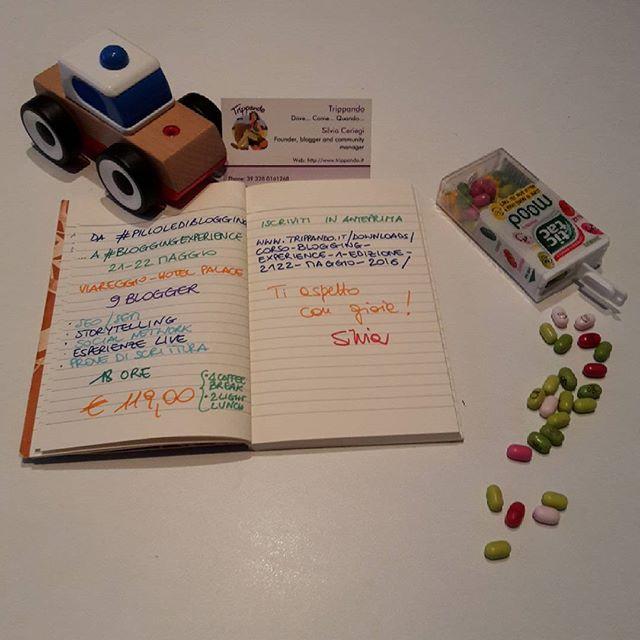 programma bloggingexperience maggio instagram