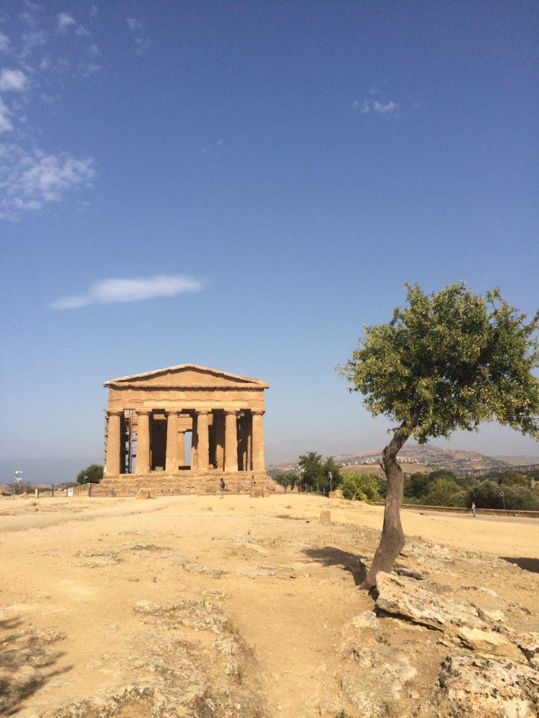 tempio della concordia valle dei templi
