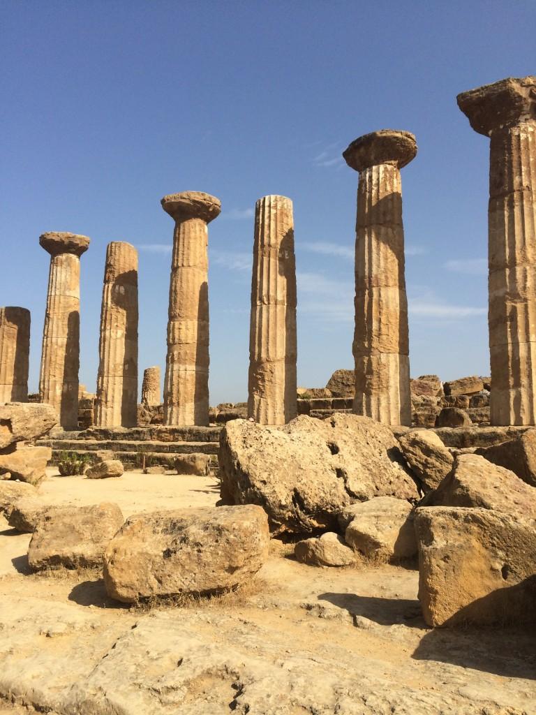 resti dei templi greci di agrigento