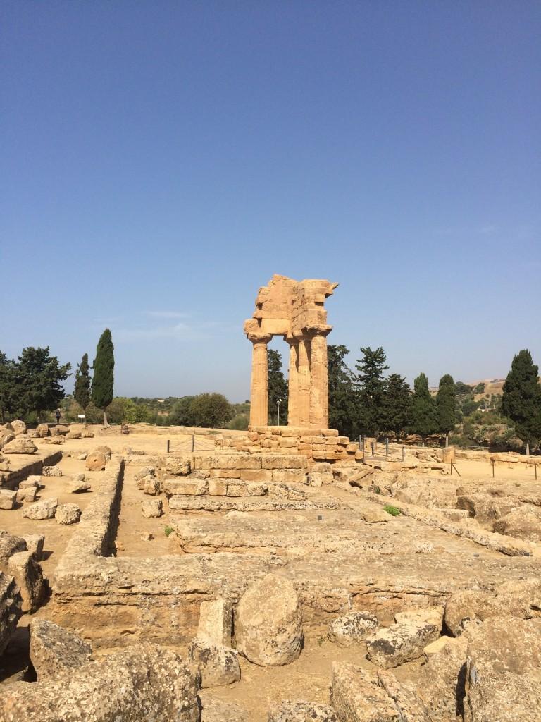 agrigento resti templi