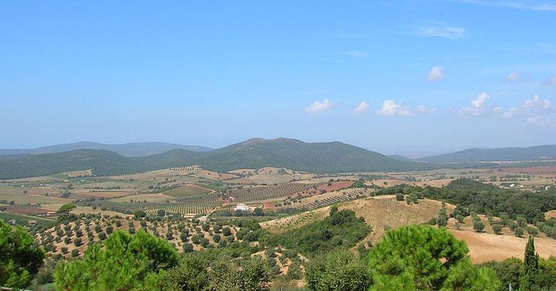 Panorama da Capalbio