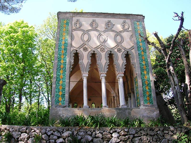 il parco di Villa Cimbrone a Ravello