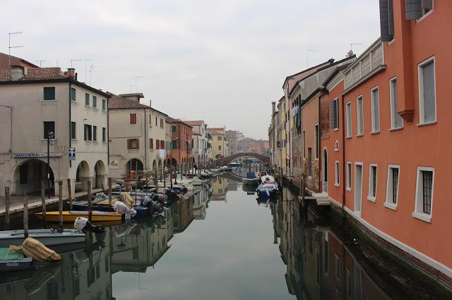 canali e ponti a chioggia