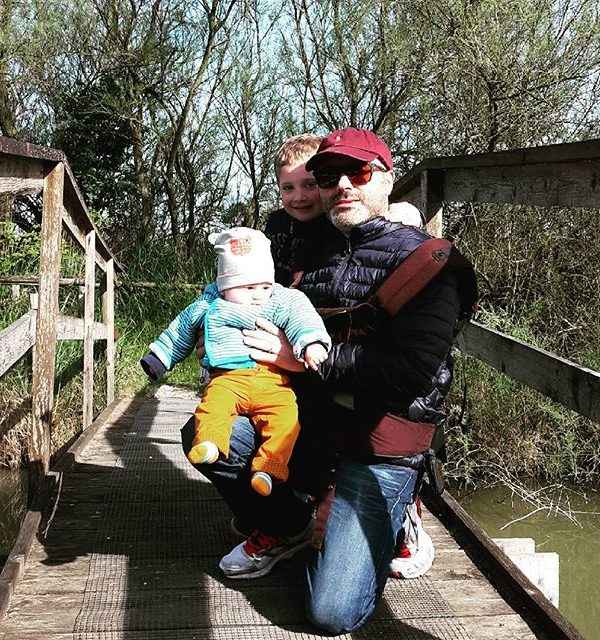 delta del po con bambini piccoli
