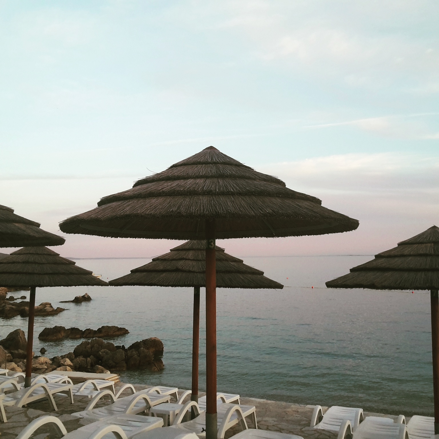 spiaggia camping krk