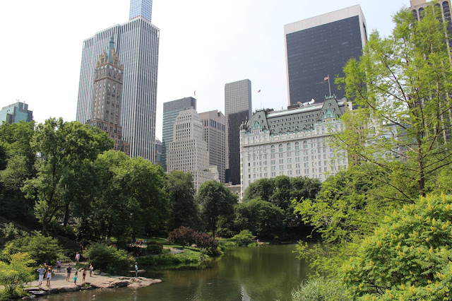 passeggiata a central park