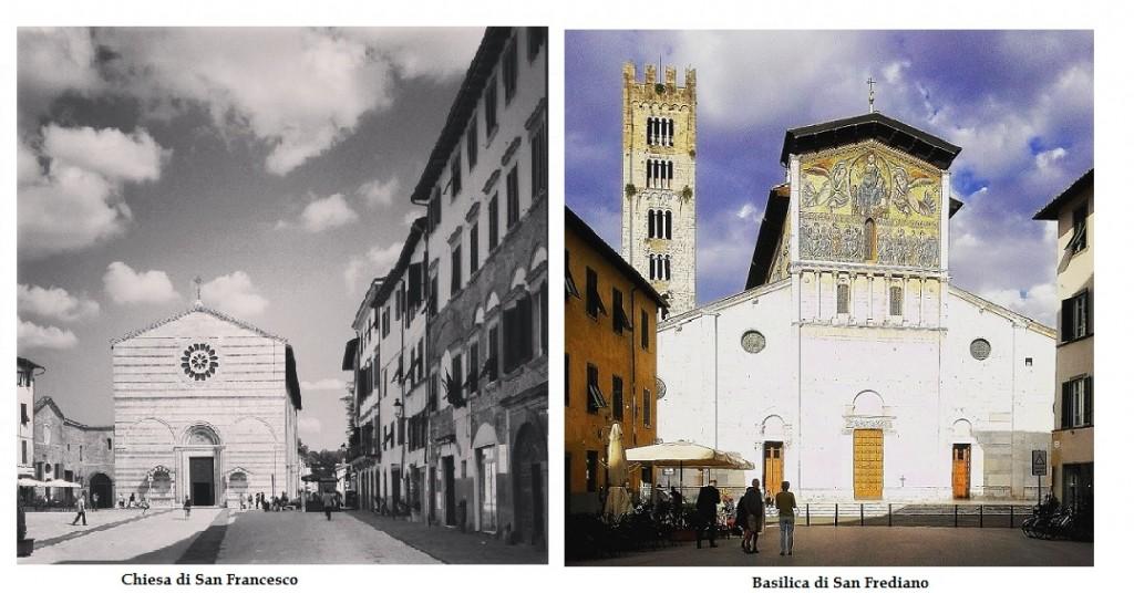 Chiesa di San Francesco e Basilica di San Frediano