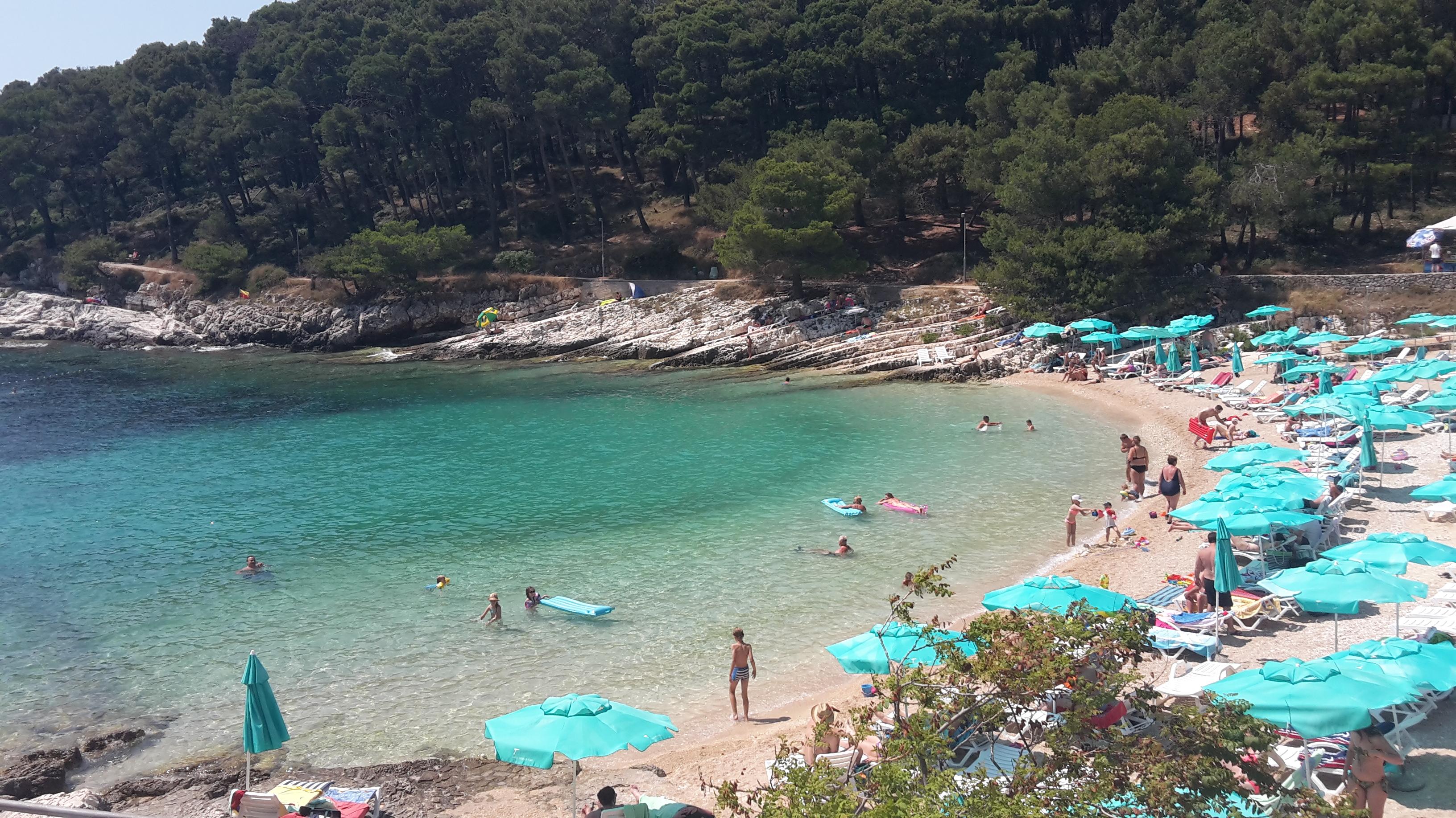 spiaggia veli zal losinj