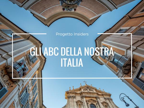 Gli ABC della nostra Italia (e il tema insiders di dicembre)