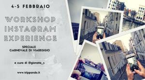 instagram experience workshop 4 5 febbraio