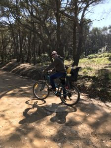 girare porquerolles in bici