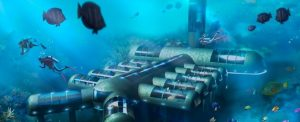 Planet Ocean Underwater Hotel, Florida
