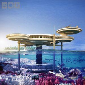 The Water Discus Underwater Hotel, Dubai