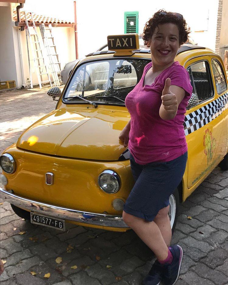 taxi giallo gargano