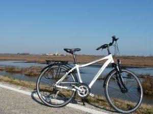 vacanza a jesolo escursione in bicicletta