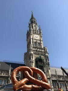 carillon marienplatz monaco di baviera