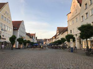 günzburg piazza del mercato